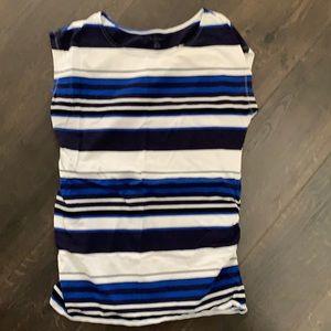 Bump Start Striped Short Sleeve Top